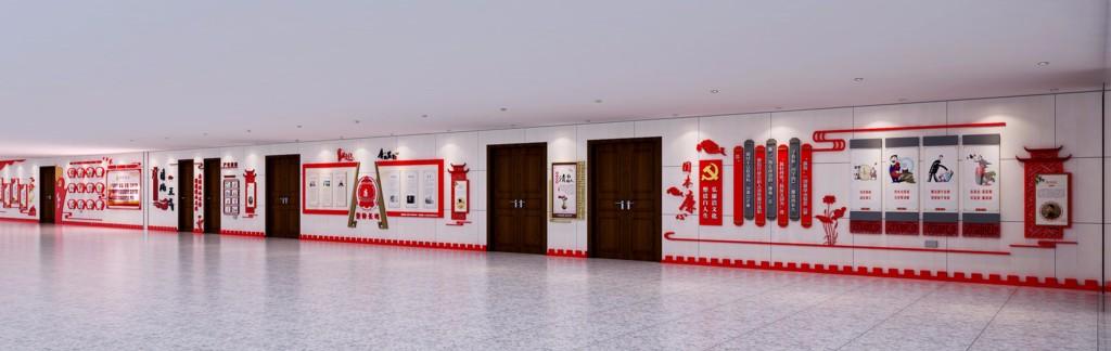 文化长廊广告制作