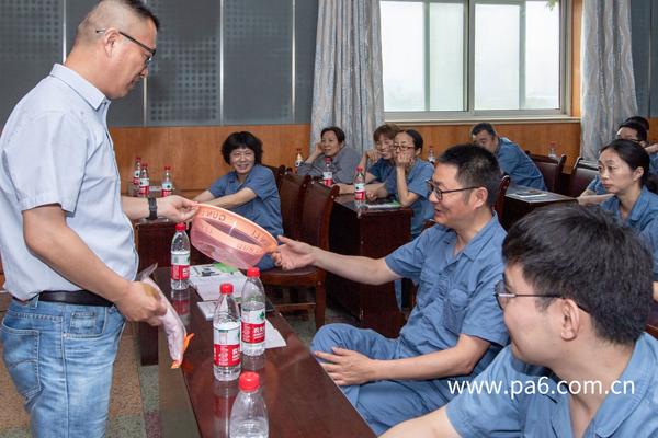 海陵区总劳模宣讲暨安全培训在海阳科技举行