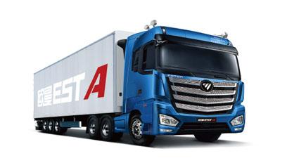 EST-A 6x4牵引车 康明斯460马力
