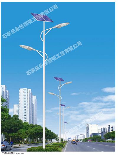 新农村太阳能路灯安装方法