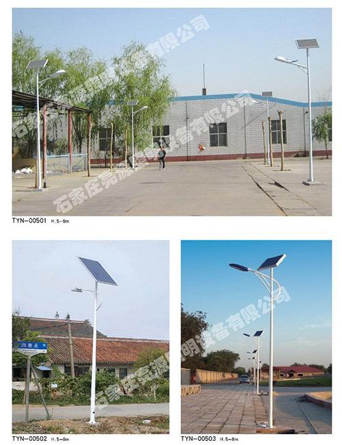 确保太阳能路灯不断照明灯具的四个方式