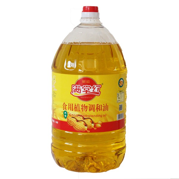 食用植物调和油花生浓香型10L