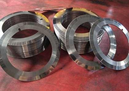 分切圆刀片生产过程中的特性
