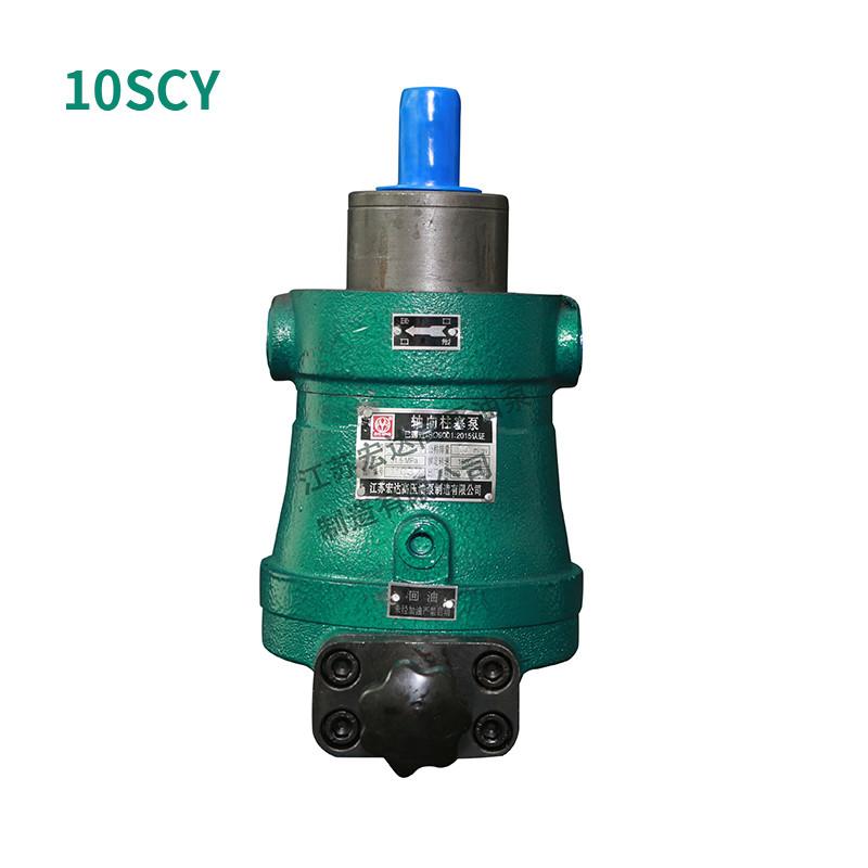 轴向柱塞泵工作原理以及是如何吸、排油的