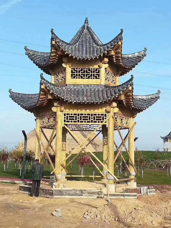 西宁防腐木凉亭