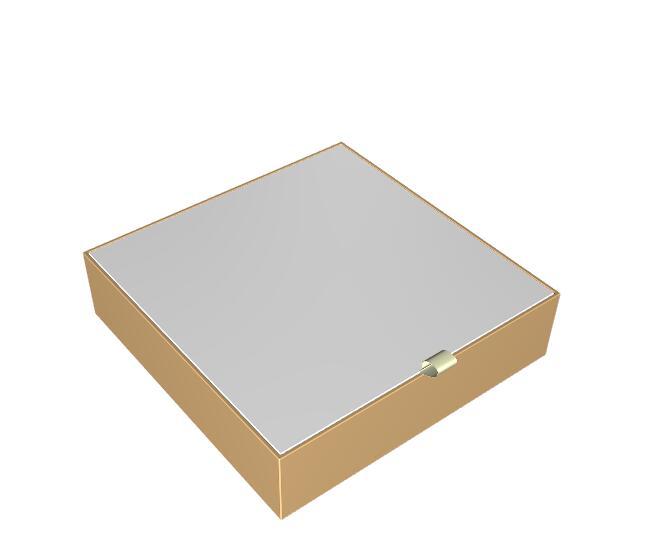 单盖箱式盒