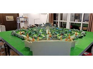 展览沙盘雕塑