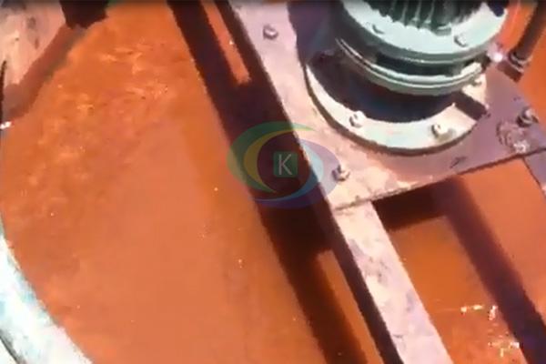 云南脱水率高的尾矿泥浆脱水压滤设备现场