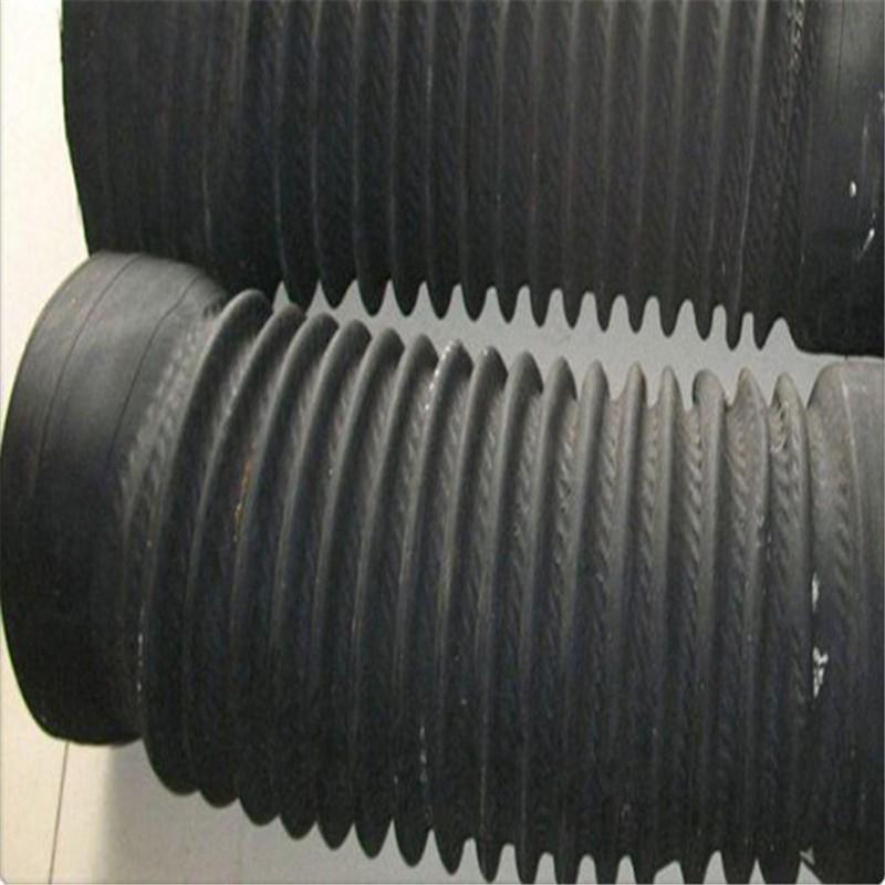 大口徑伸縮膠管
