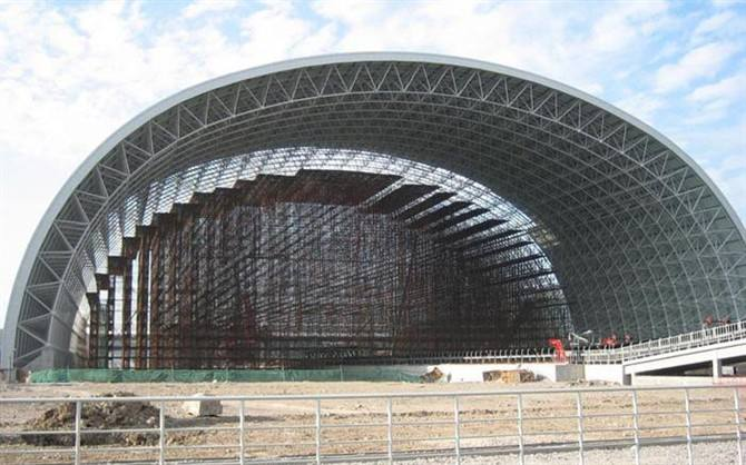 钢结构网架回收