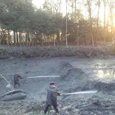 池塘清淤施工