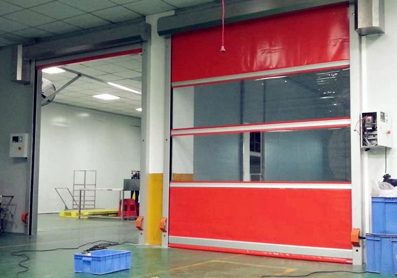 西宁PVC快速卷帘门的优点和配置介绍