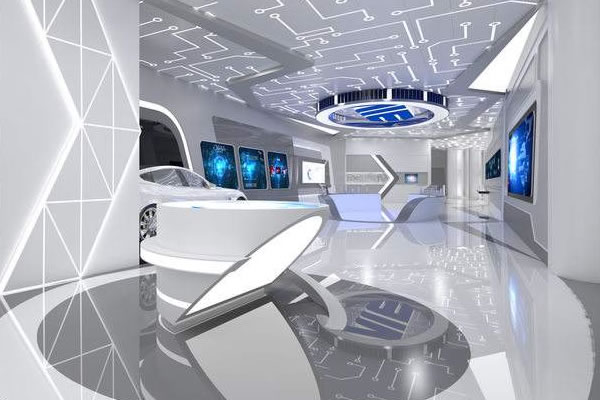 如何让总面积较小的展馆设计出更大空间效果?