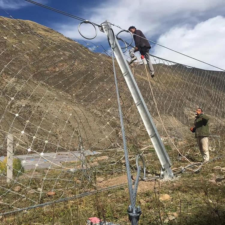 云南昆明网上订购边坡防护网 主动边坡防护网 环形护坡网 质量保证