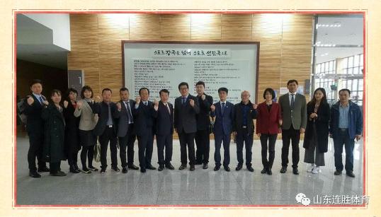 连胜体育跟随中国体育用品业联合会了解国外体育市场