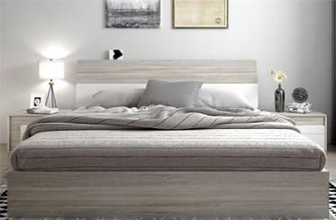 【建材批发】御到你EO级气动液压床抽屉储物高箱北欧现代简约板式双人床