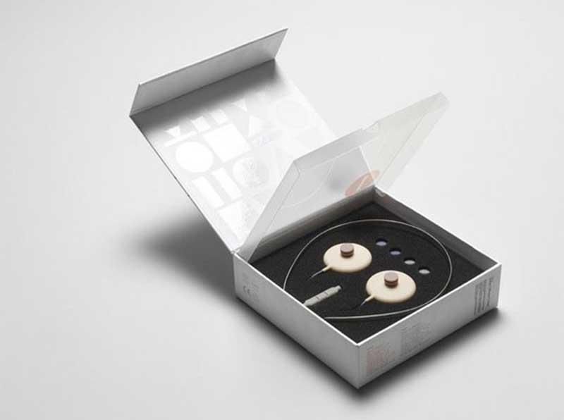 电子产品耳机包装盒设计