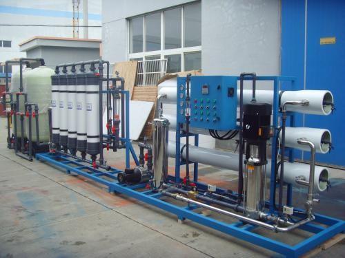水处理设备技术是利用双层的超滤膜进行水处理