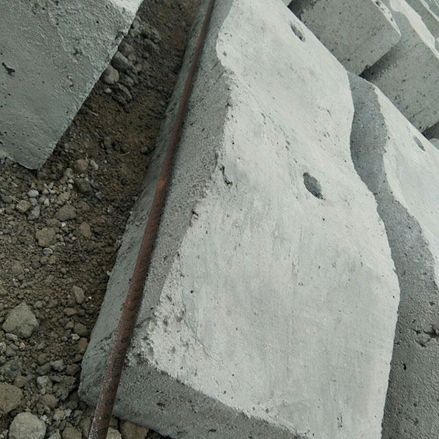 桥梁压载、重混凝土