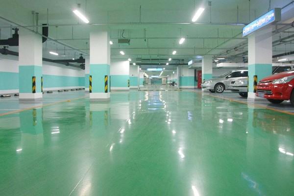 交通设施地坪漆工程