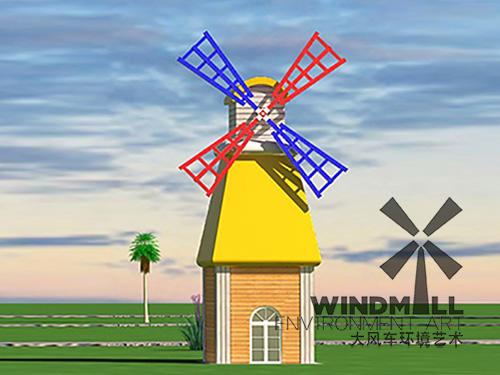 新式景观风车价格