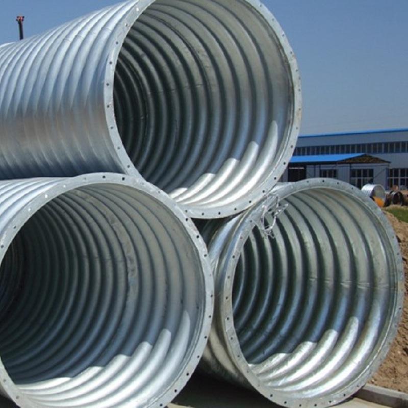 金属波纹管涵的安装流程你了解多少?