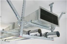 矩形风管双向刚性吊架