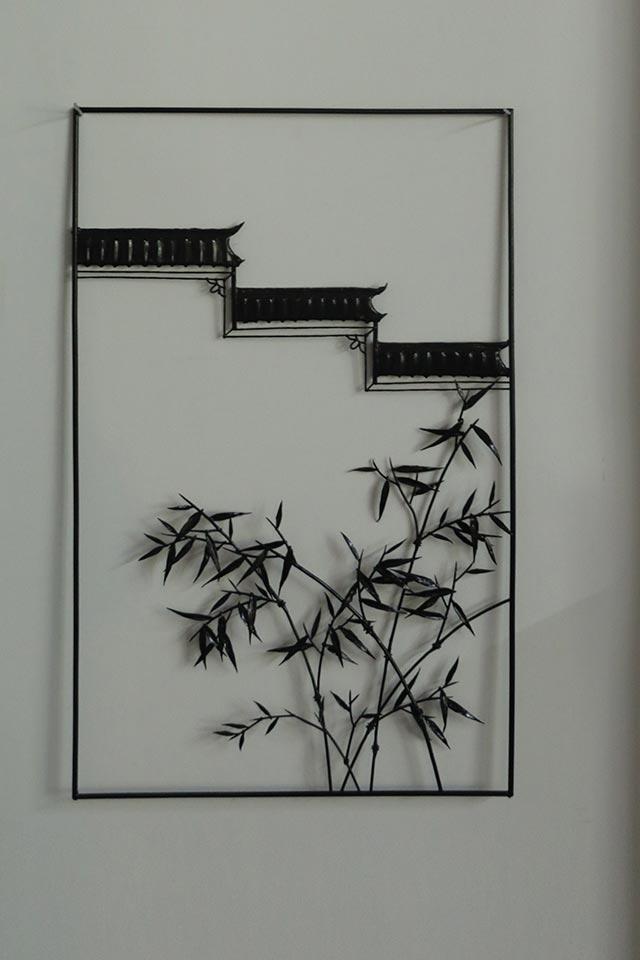 铁框徽民居