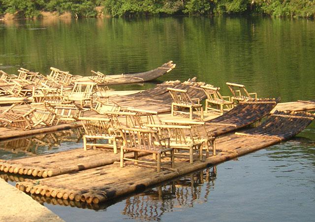 竹筏怎么建