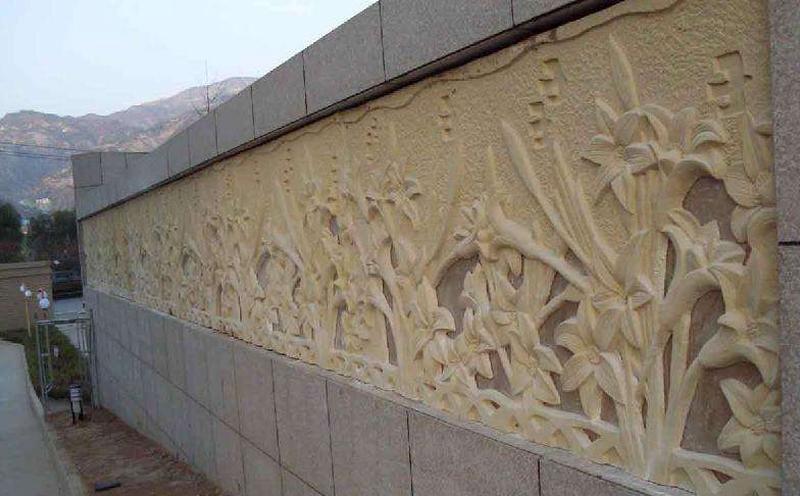 砂岩浮雕板施工的基本要求