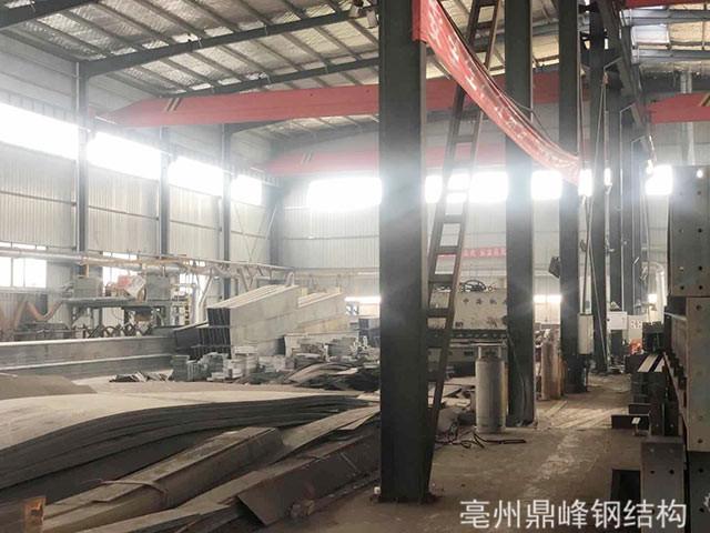 钢结构加工生产线
