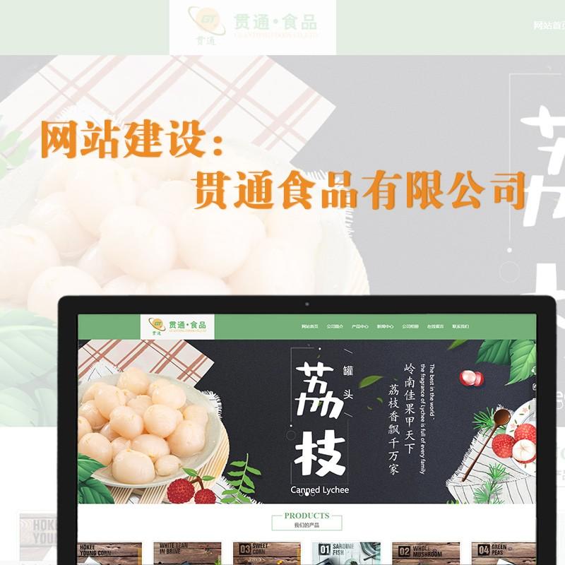 网站建设——贯通食品有限公司
