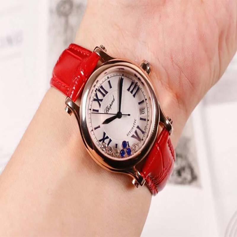 皮质表带男士手表