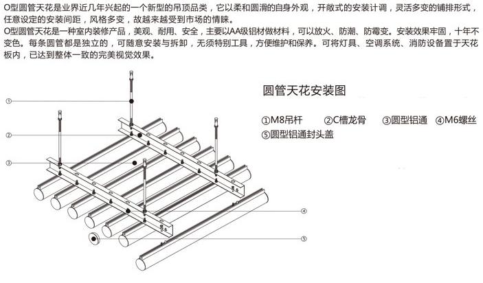 铝型材圆管