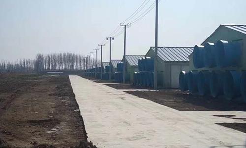 养殖风机外部安装案例