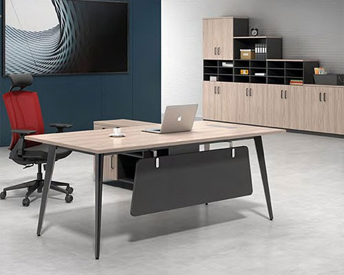 钢制办公桌选择款式大全