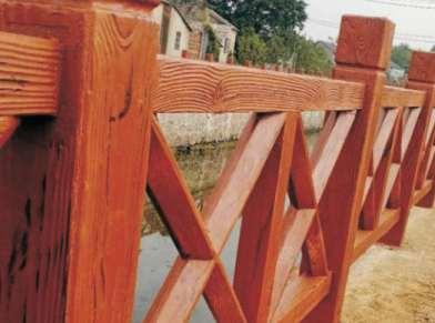 仿木护栏安装环境有哪些要求