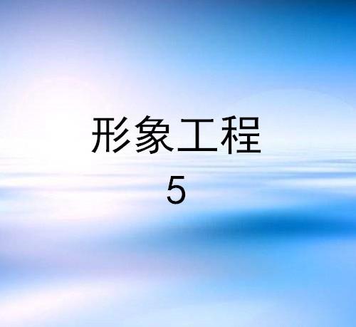 形象工程(5)