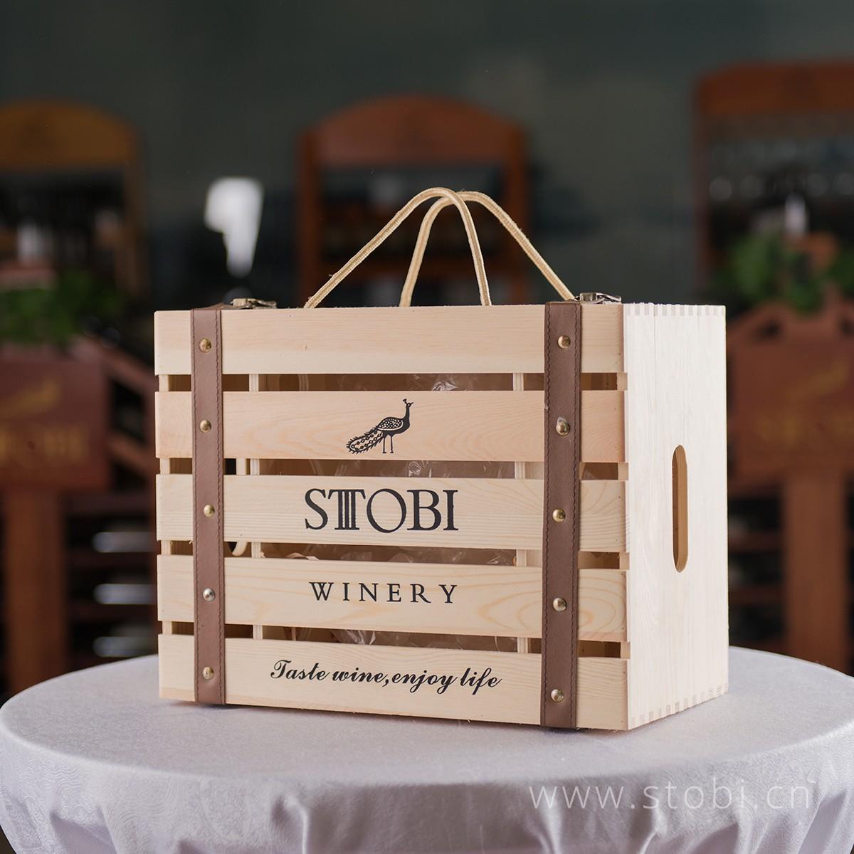 品牌6只装木箱