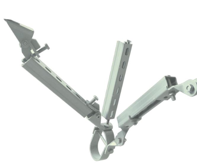 侧向抗震支架厂家介绍其设备运用到范围
