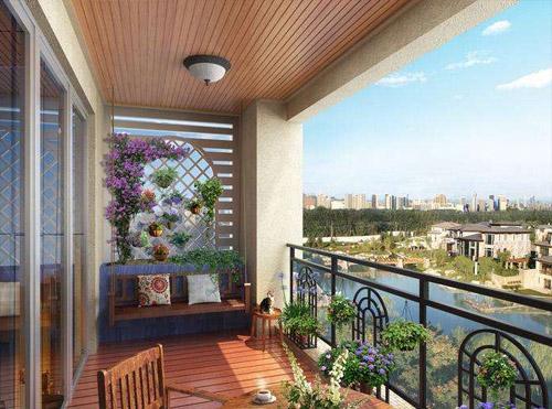 沧州装修设计公司浅聊给阳台进行空间设计时,我们要注意什么