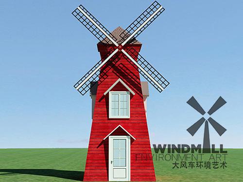 山东景观风车制造