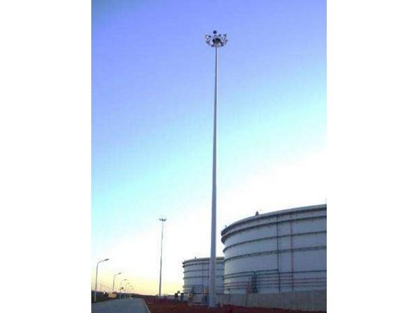 高杆灯生产厂家的商品为何灯光节歪斜