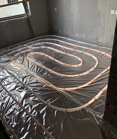 地暖管安装