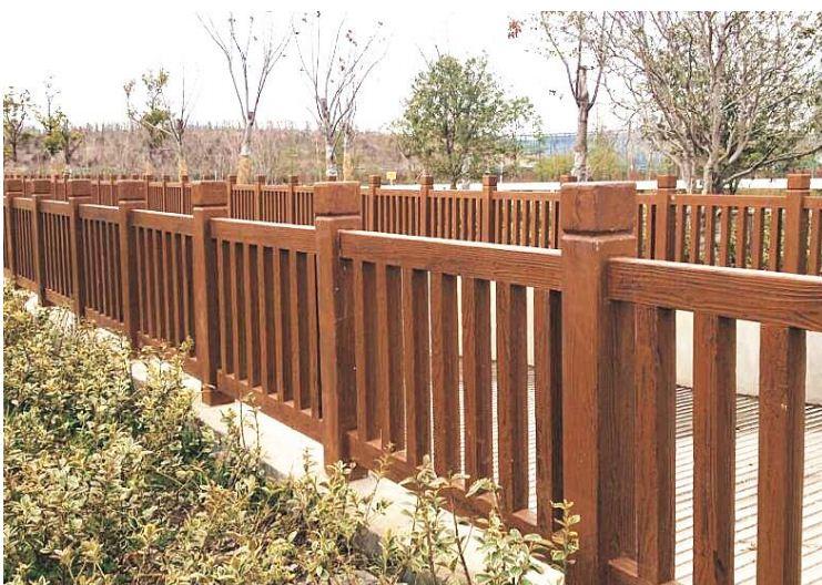 仿木护栏与实木护栏有什么区别
