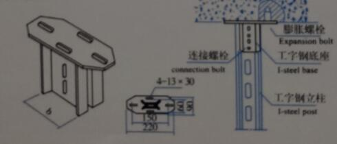 XQJ-H-01D工角钢立柱