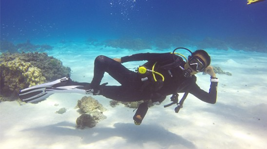 JK进阶开放水域潜水员