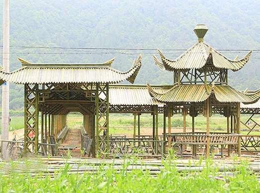 竹长廊的一些设计要点说明