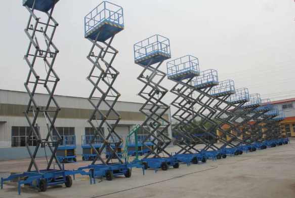 广州市市政 ——移动剪叉升降机