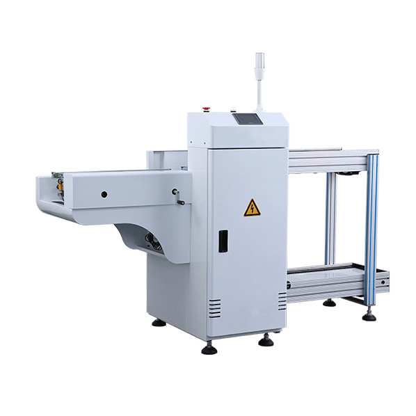 Automatic plate unloading
